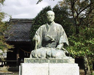 山形の銅像